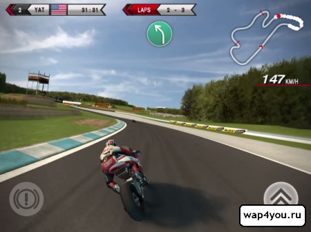 Скриншот SBK14 Official Mobile Game на Андроид