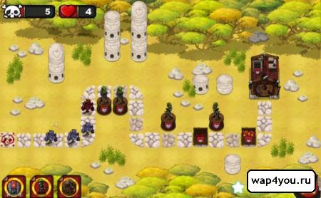 Скриншот tower defense