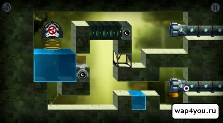 Скриншот Tetrobot and Co на android