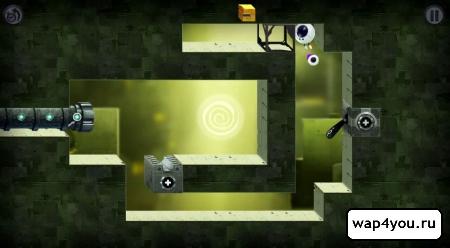 Скриншот игры Tetrobot and Co