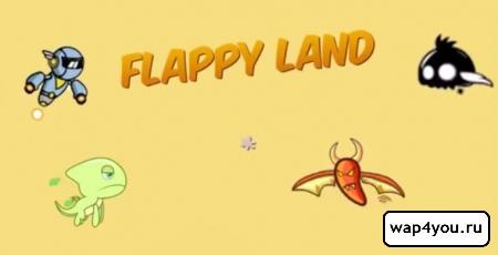 Обложка игры Flappy Land