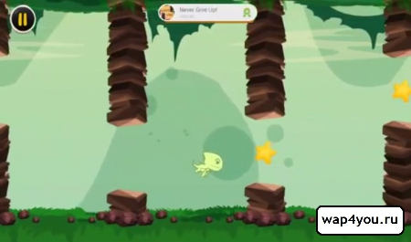 Скриншот игры Flappy Land