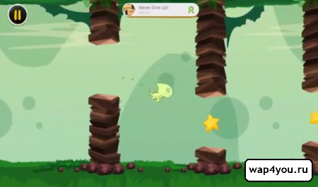 Скриншот Flappy Land для андроид