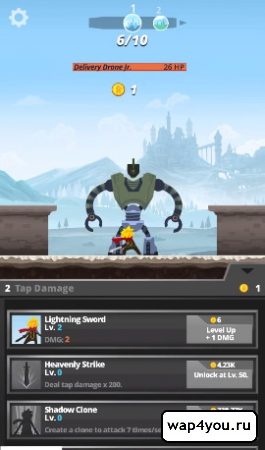 Скриншот Tap Titans для Андроид
