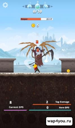 Скриншот игры Tap Titans