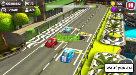 Скриншот Turbo Wheels