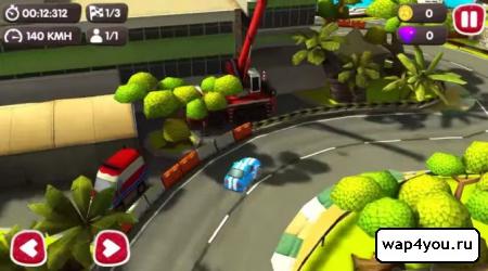 Скриншот гонок Turbo Wheels