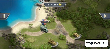 Скриншот 1942 Pacific Front для android