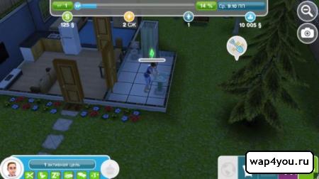 Скриншот Sims на Андроид
