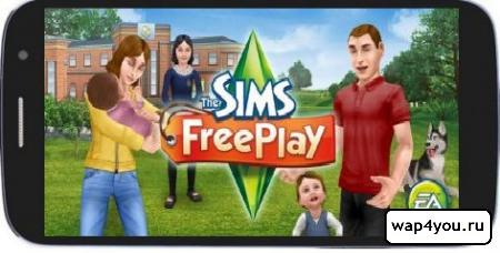 Обложка игры Sims FreePlay
