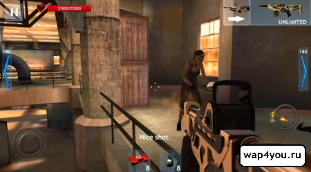 Скриншот Zombie Objective на андроид