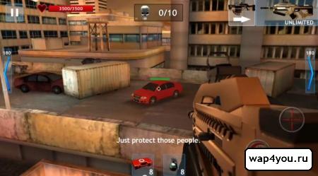 Скриншот игры Zombie Objective