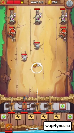 Скриншот Defend the Dam на android