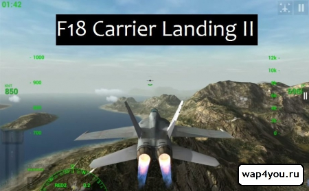 Обложка F18 Carrier Landing II