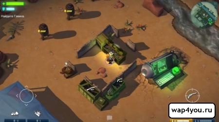 Скриншот игры Space Marshals