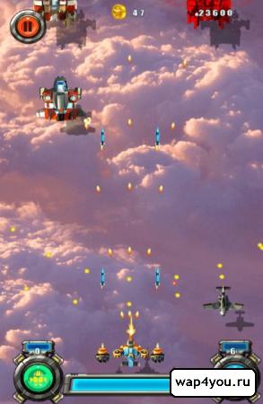 Скриншот Aircraft Combat 2015 для android