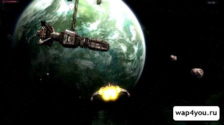 Скриншот Galaxy on Fire 2 HD