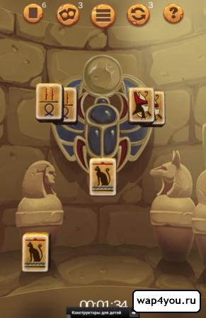 Скриншот игры маджонг для android