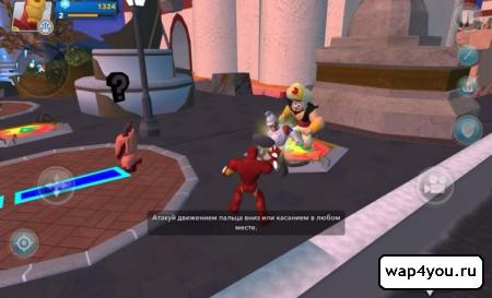Скриншот Disney Infinity 2.0 на андроид