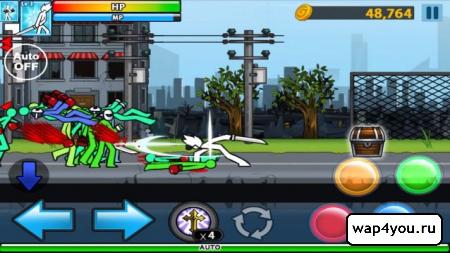 Скриншот игры Anger Of Stick 4