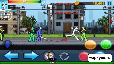 Скриншот Anger Of Stick 4 на андроид