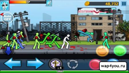 Скриншот Anger Of Stick 4 для android