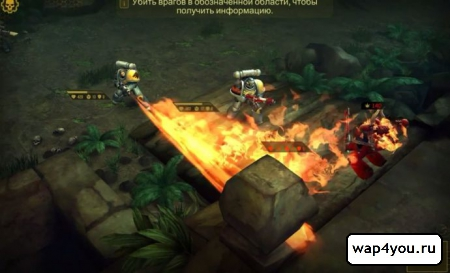 Скриншот Warhammer 40.000: Space Wolf на Андроид
