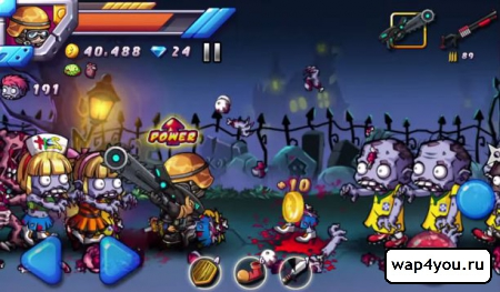 Скриншот игры Zombie Diary 2 Evolution