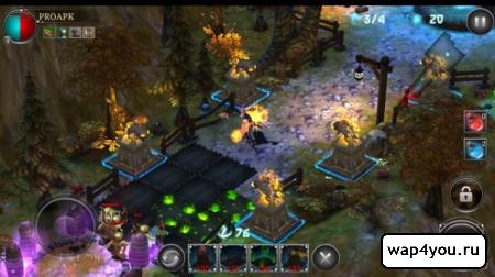 Скриншот игры Heroes Never Die для android