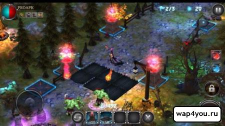 Скриншот игры Heroes Never Die