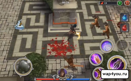 Скриншот игры BLOOD & GLORY: IMMORTALS