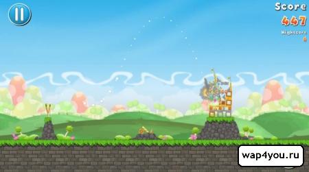 Скриншот игры FlingMonster для Android