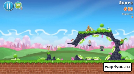 Скриншот игры FlingMonster