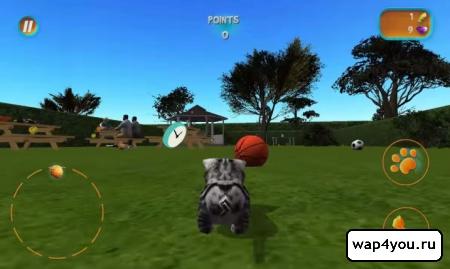 Скриншот игры Cat Simulator