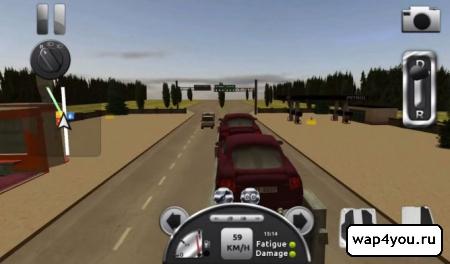 Скриншот Truck Simulator 3D для Android