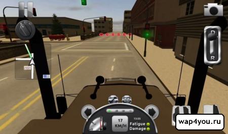 Скриншот игры Truck Simulator 3D
