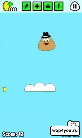 Скриншот Pou на Андроид