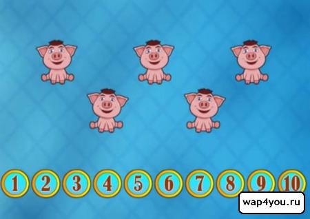 Скриншот приложения Сборник детских игр