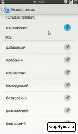 Скриншот Переводчика без интернета