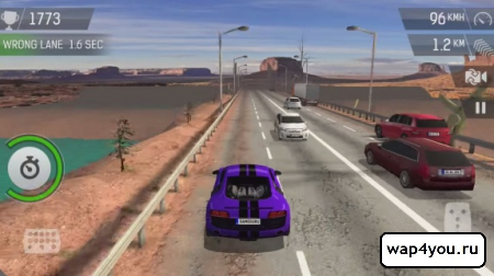 Скриншот Racing Fever для телефона