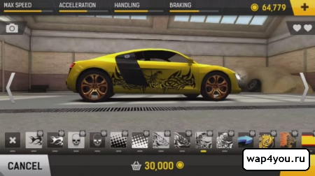 Скриншот гонок Racing Fever