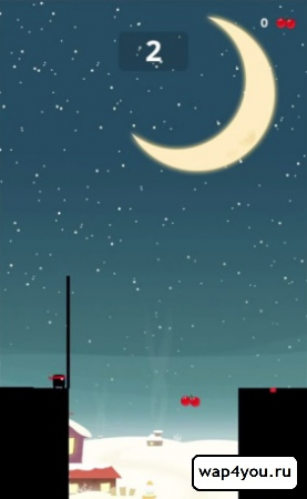 Скриншот игры Stick Hero на Андроид