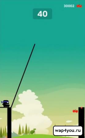 Скриншот Stick Hero на Андроид