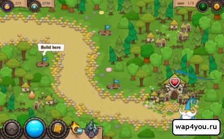 Скриншот Wonder Defender TD