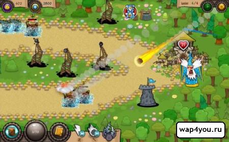 Скриншот игры Wonder Defender TD