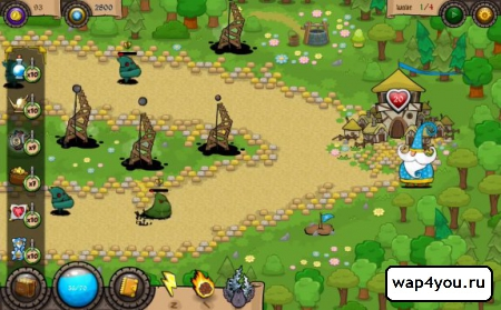 Скриншот Wonder Defender TD для Android