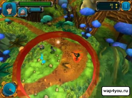 Скриншот игры Slugterra: Dark Waters