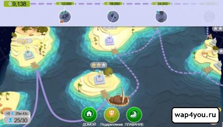 Скриншот Godus на Андроид