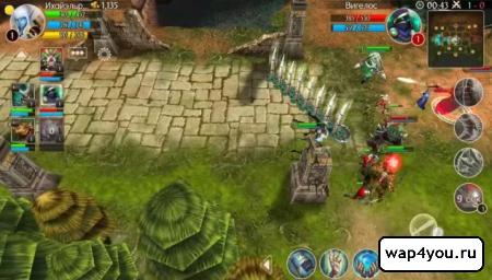 Скриншот Heroes of Order & Chaos на андроид
