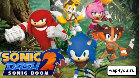 Обложка Sonic Dash 2: Sonic Boom
